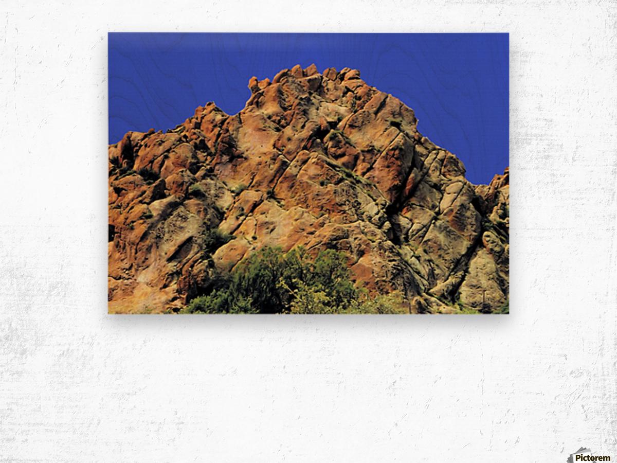 Another Rock Hill  Impression sur bois
