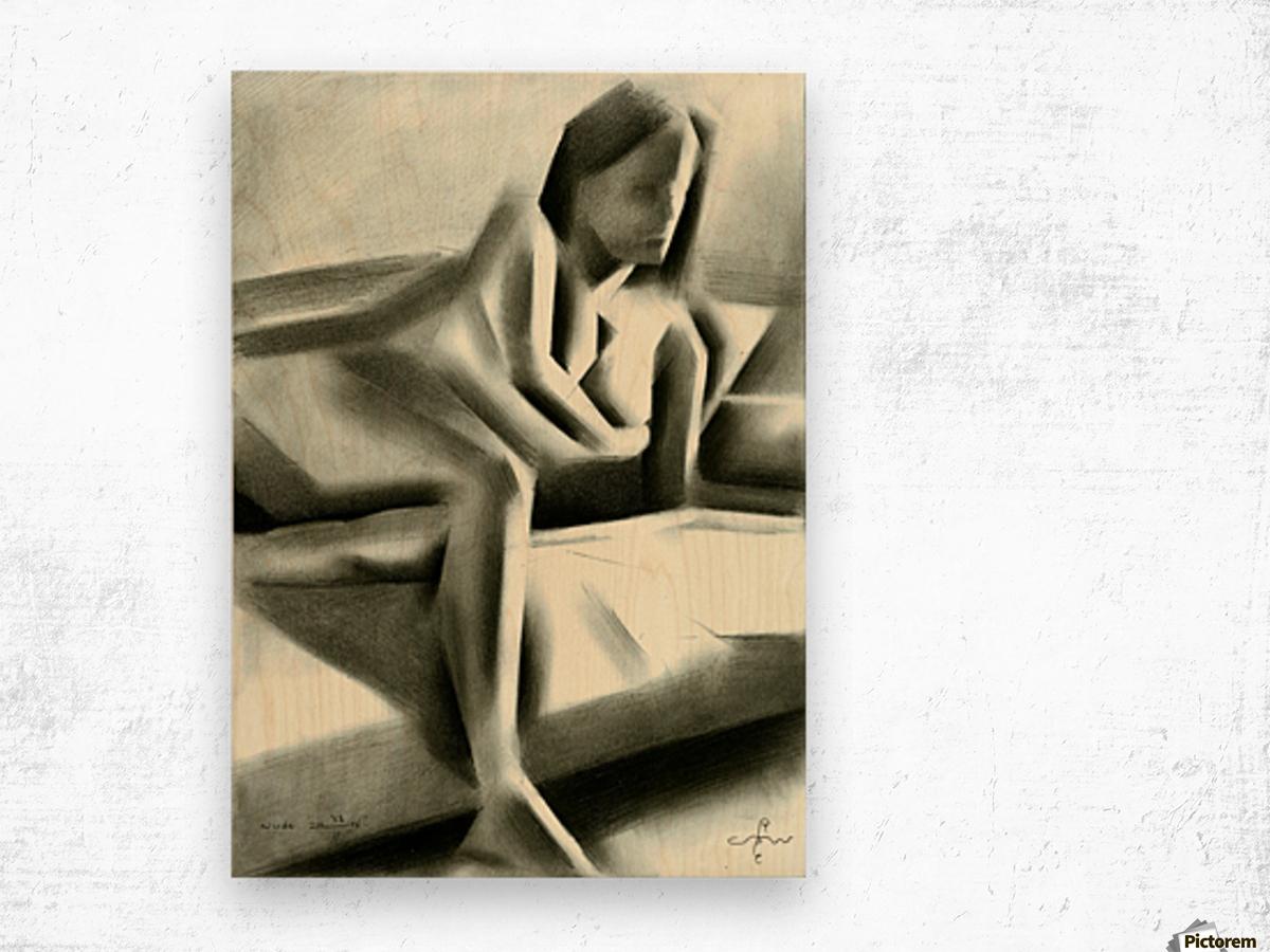 Nude - 23-01-16 Wood print