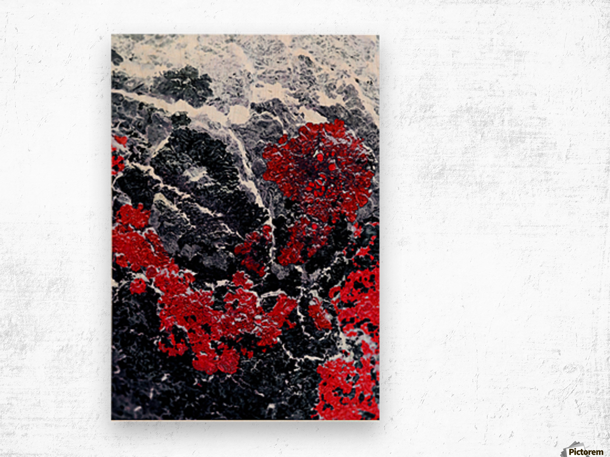 Red Cliff Wood print