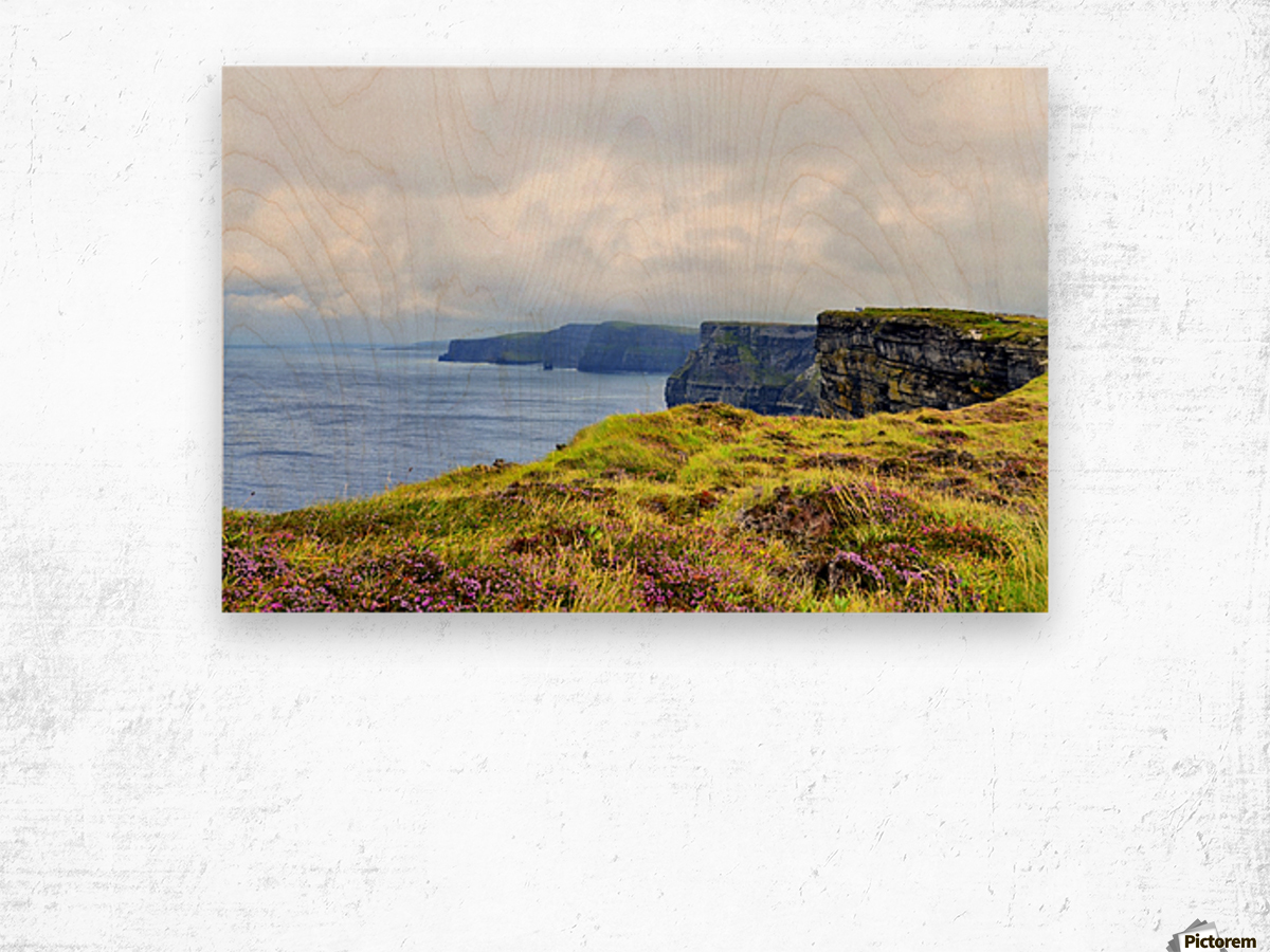 CLIFFS OF MOHER 10 Wood print