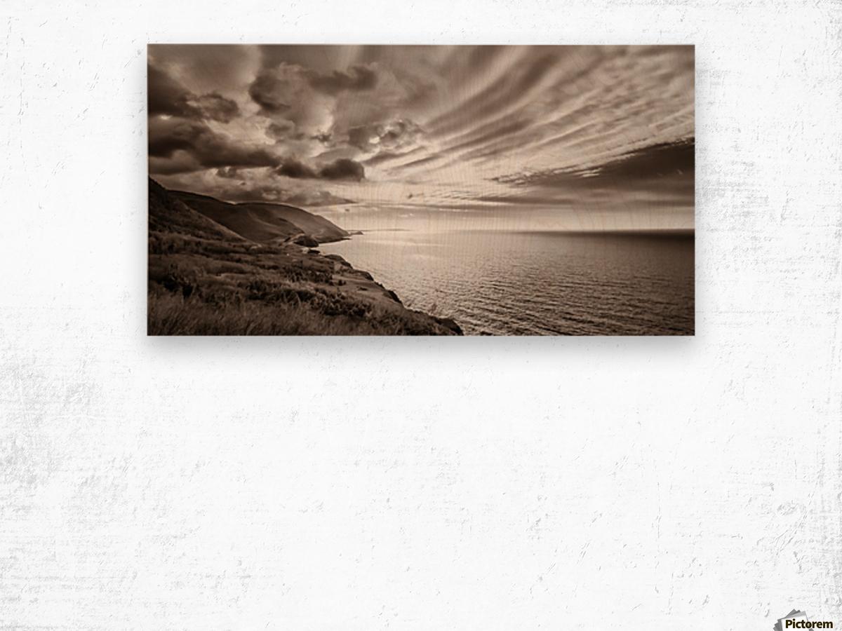 Breakthrough Skies Wood print