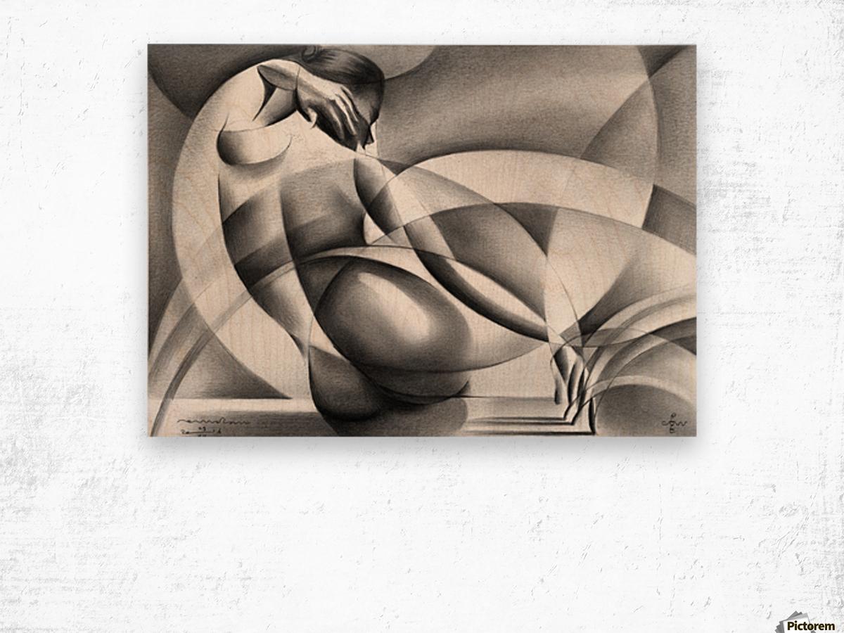 Roundism - 29-07-16 Wood print