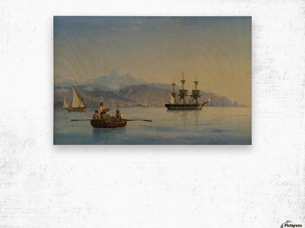 Bay of Palermo, Sicily Wood print