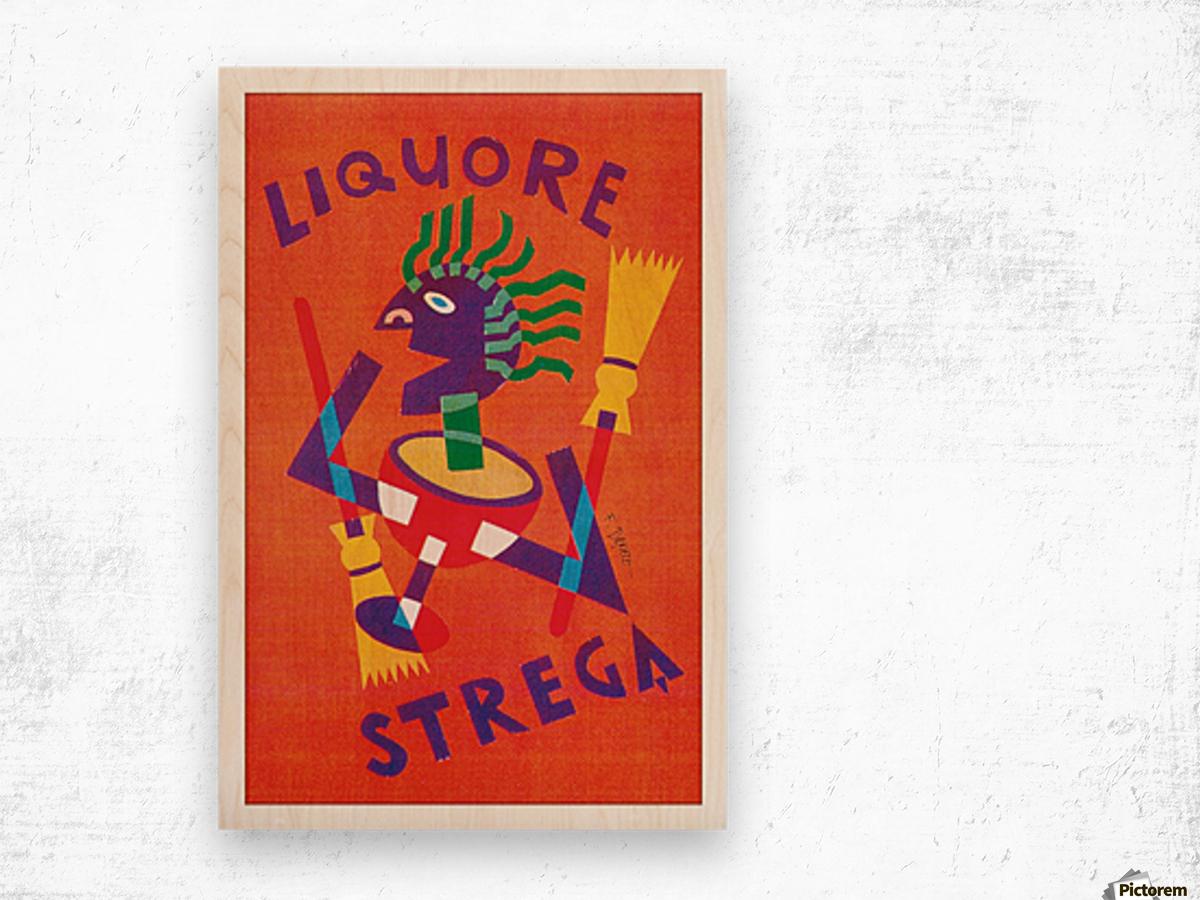 Strega Alberti Benevento poster Wood print