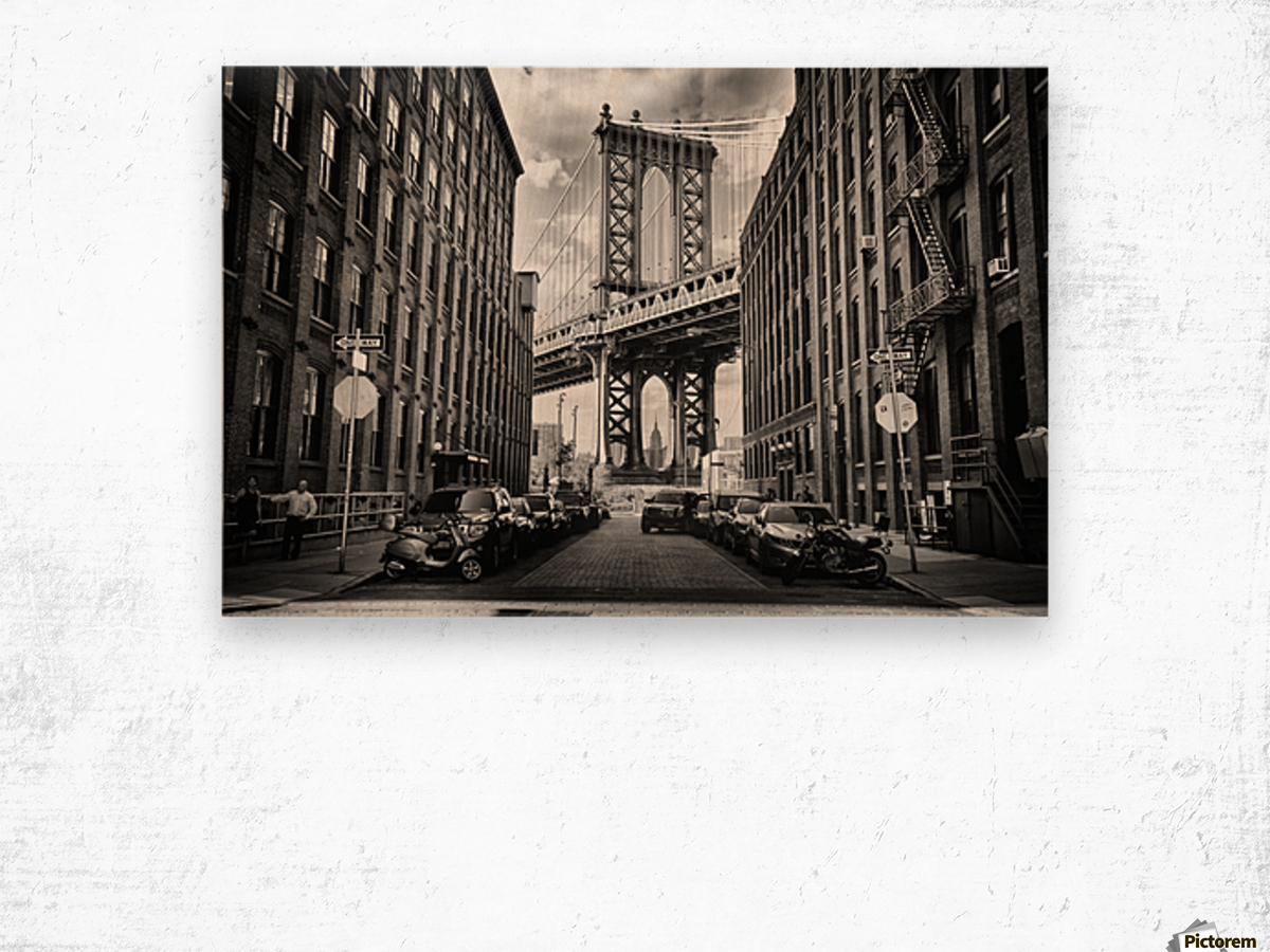 In America Wood print