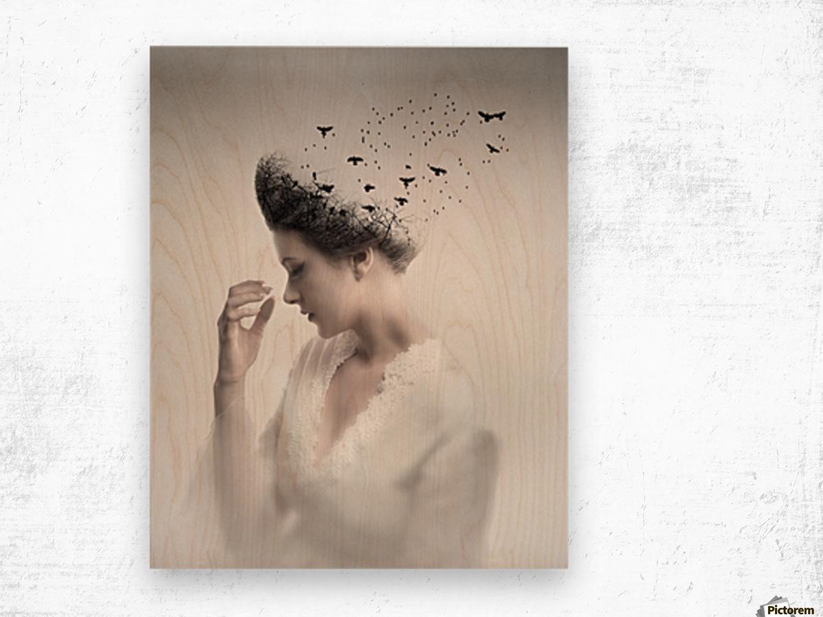 Give them life Wood print