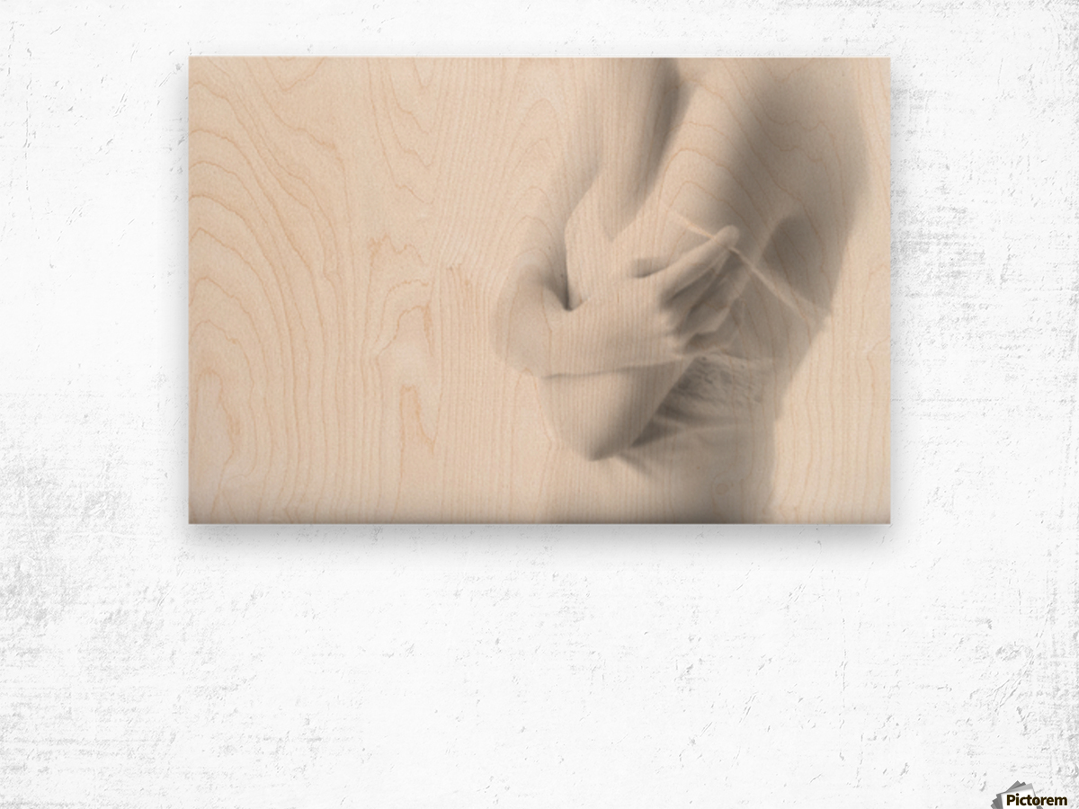 Undress Wood print