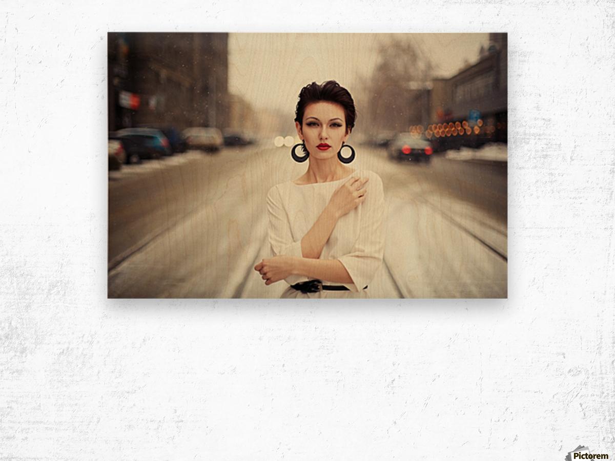 Nastya Wood print