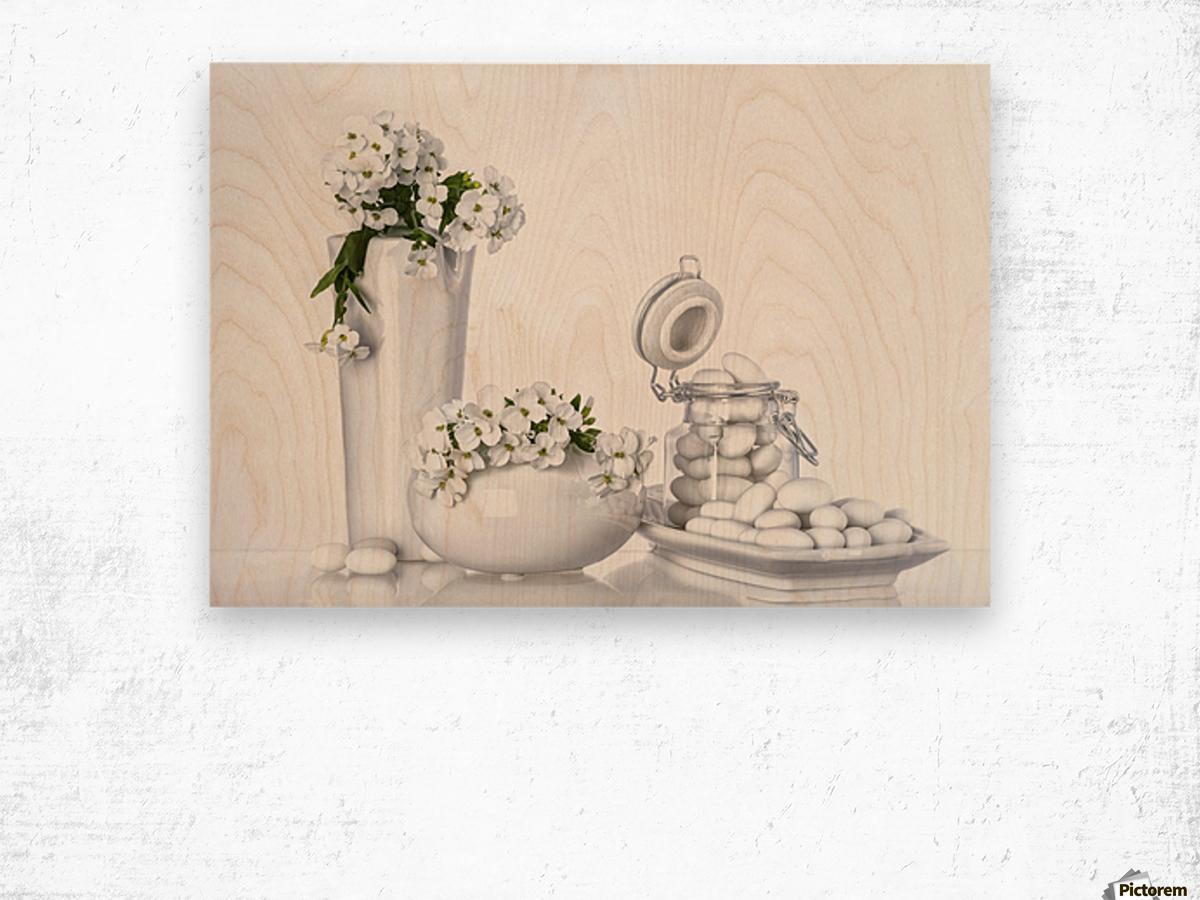 porcelain Wood print