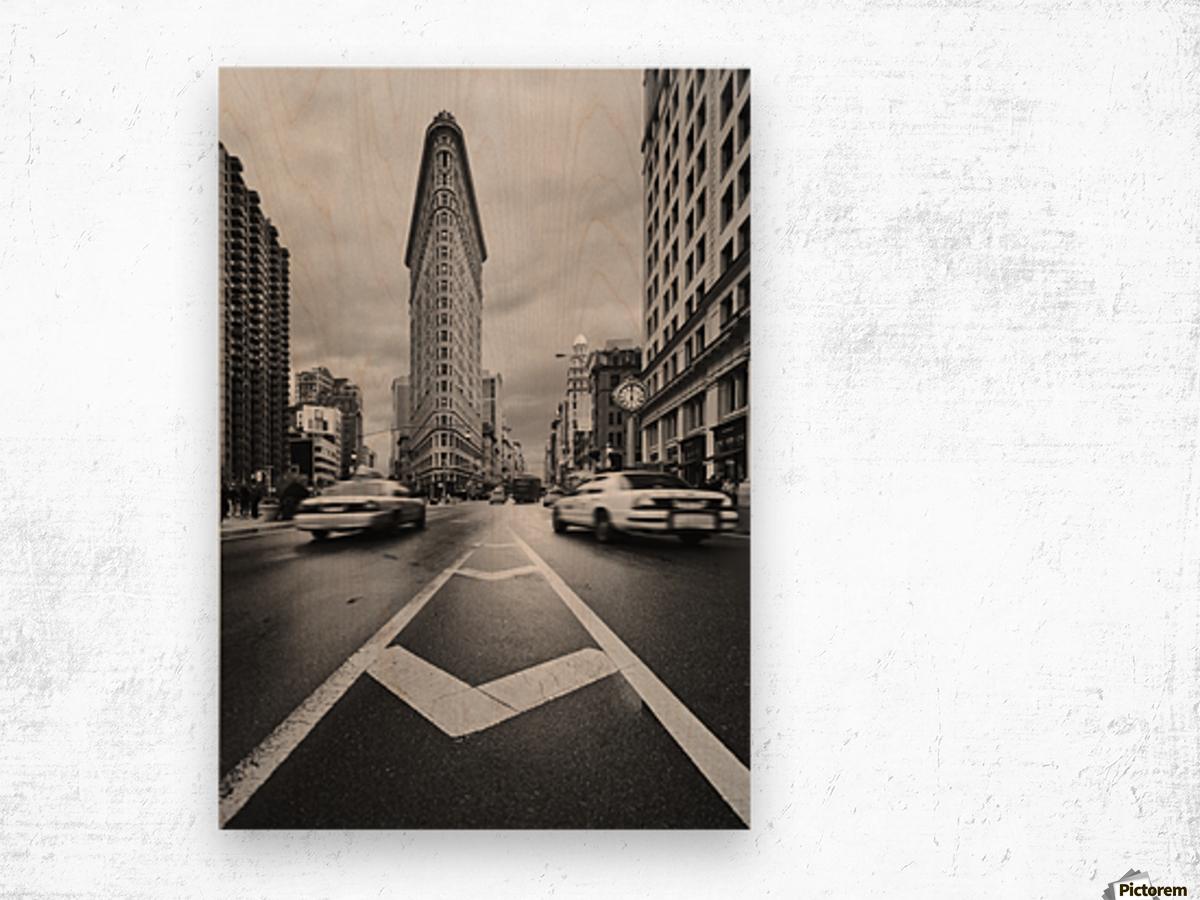 Taxiiii Wood print