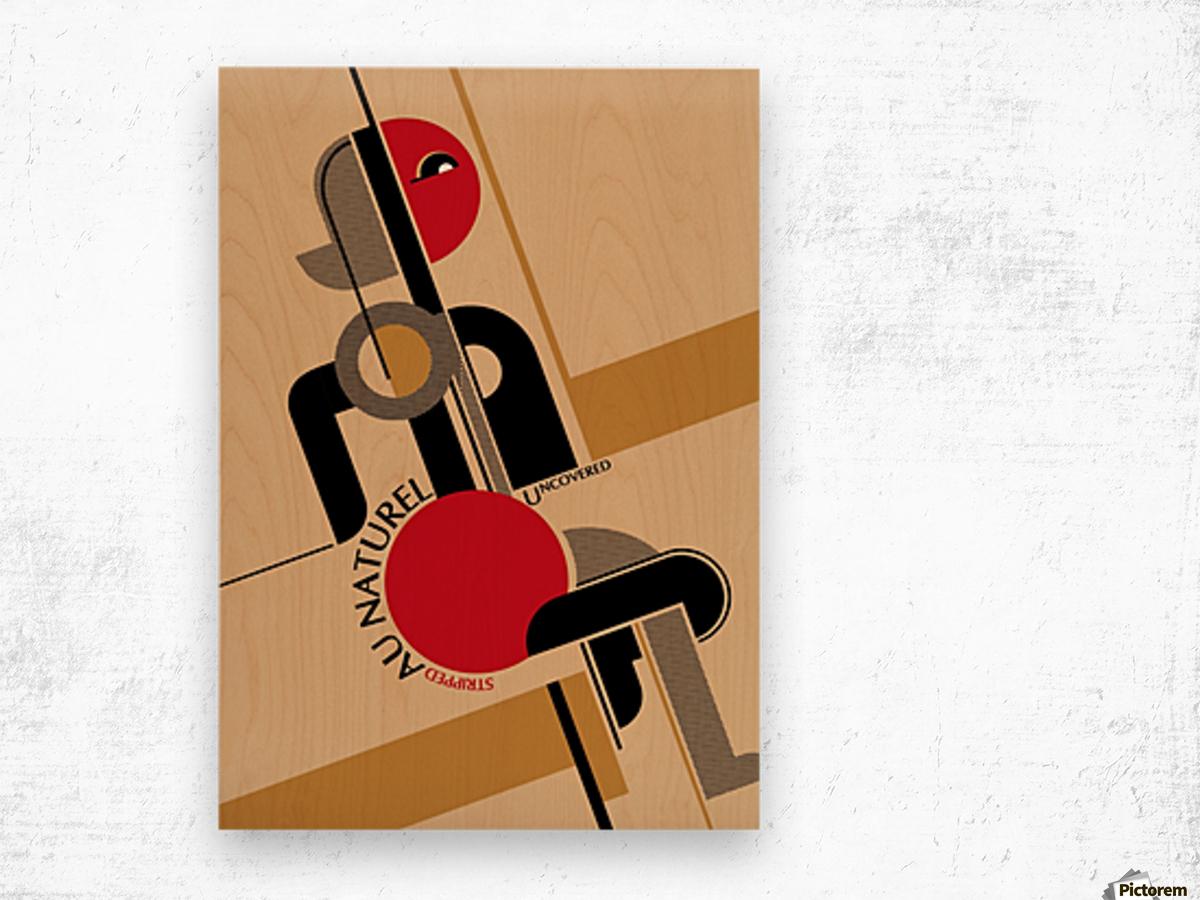 Bauhaus Nude Wood print