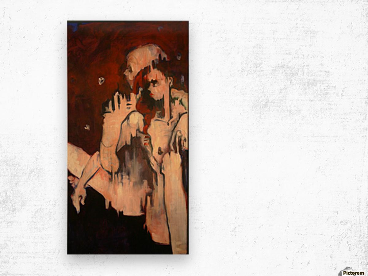 Sonny & Clay Wood print