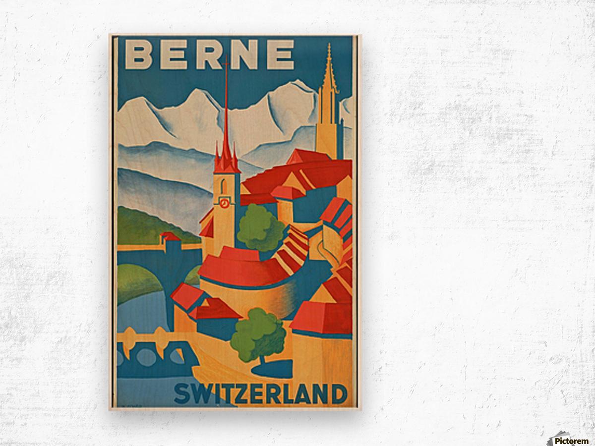 Berne Switzerland Wood print