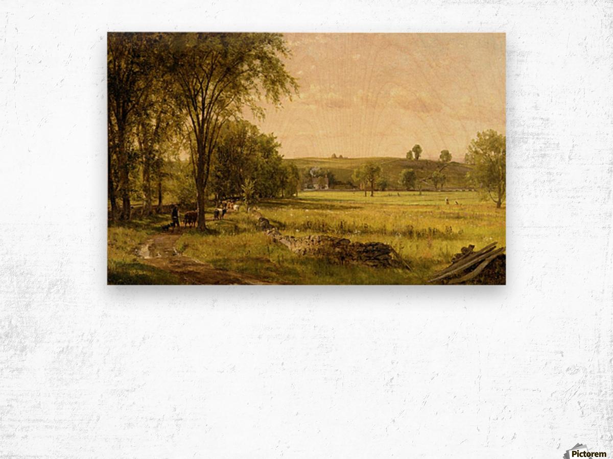 Near Gray Court Junction Wood print
