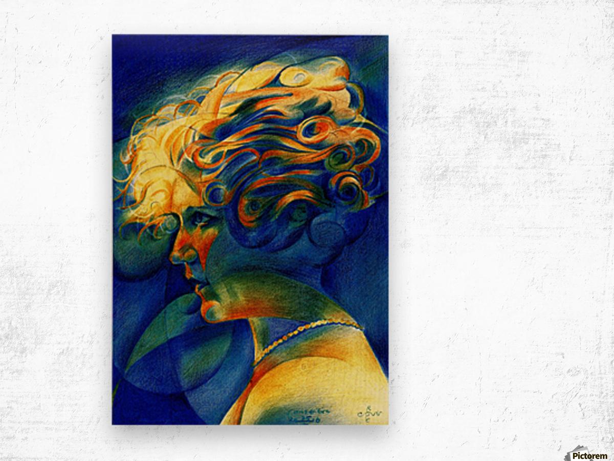 Sans titre - 25-10-16 Wood print