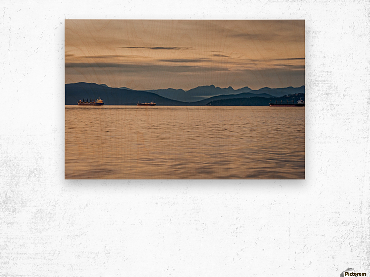 Pacific North West Wood print