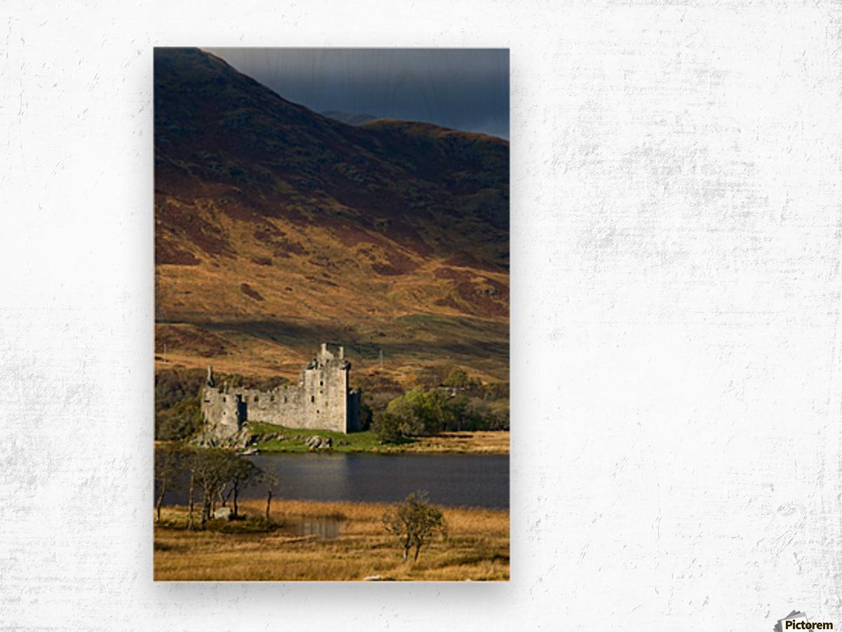 Kilchurn Castle, Scotland Wood print