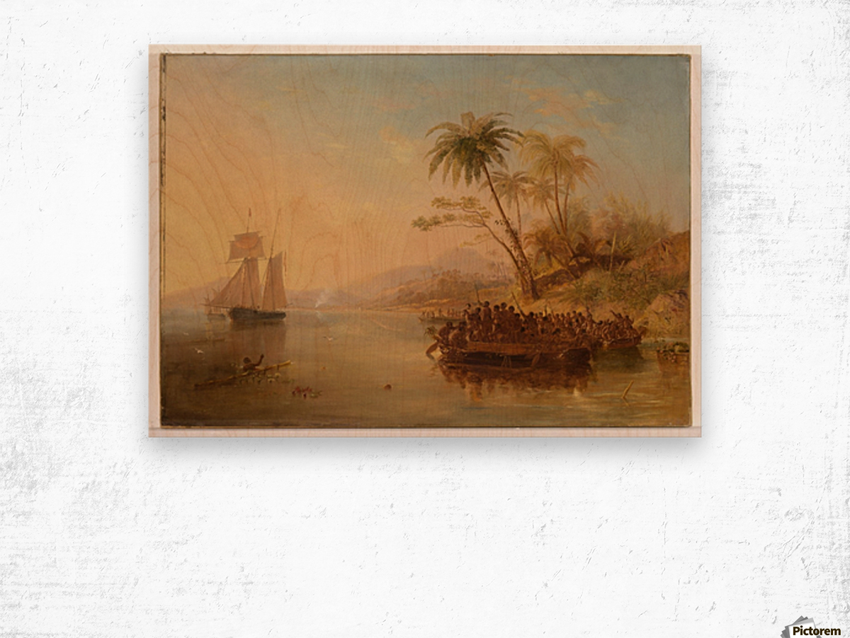 The Rescue Of William Doyly Wood print