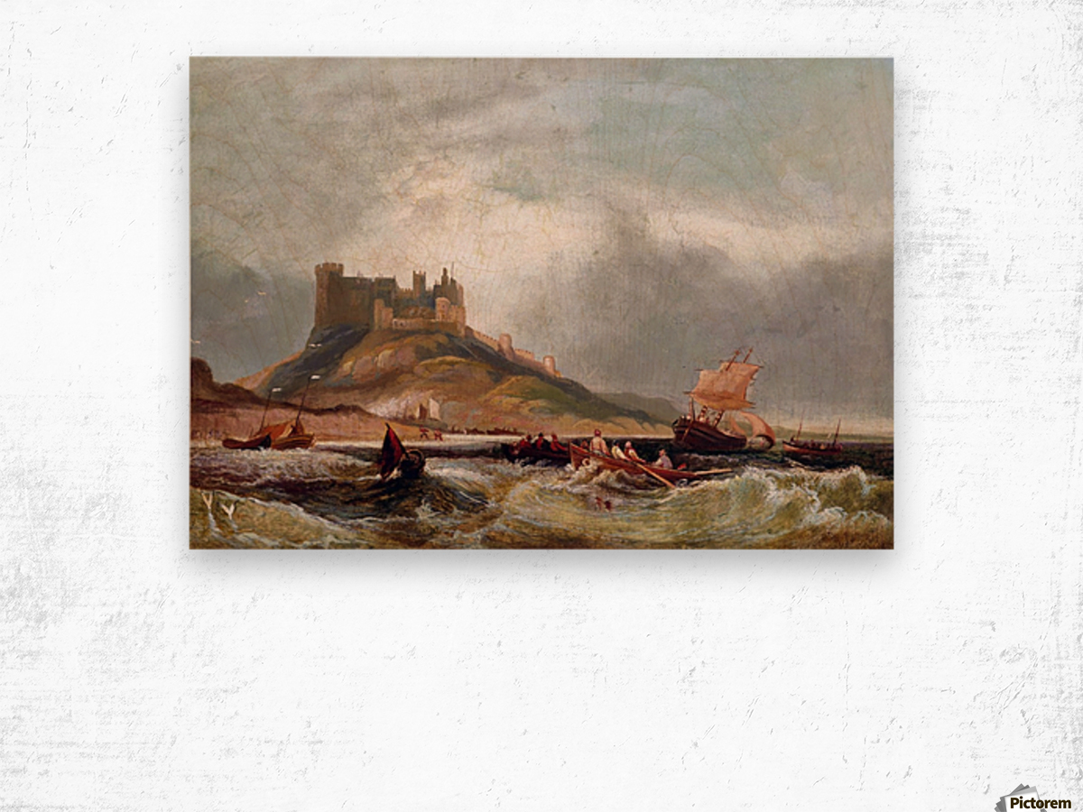 Castle by the o'jays Wood print