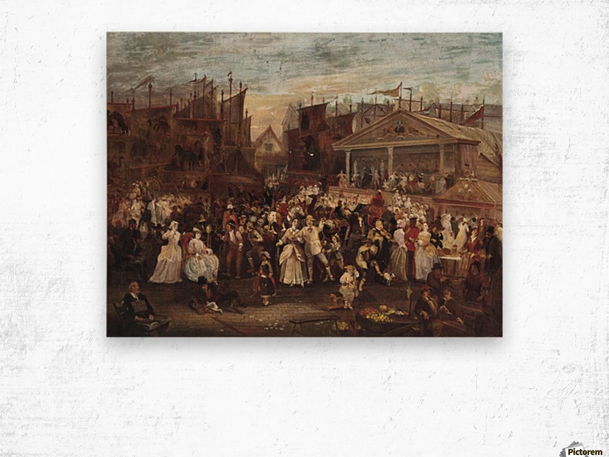 Greenwich fair Wood print