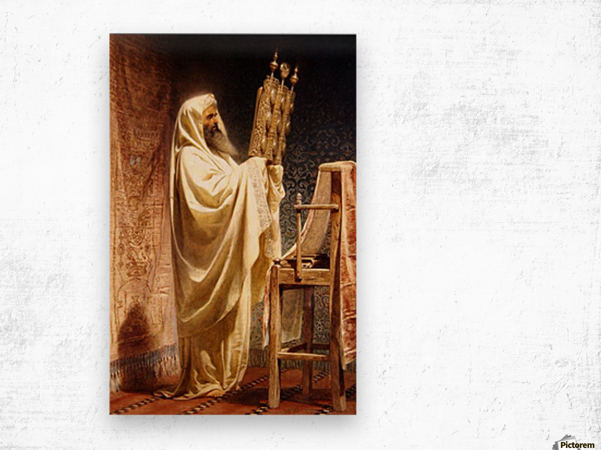 The High Priest of the Samarian Wood print