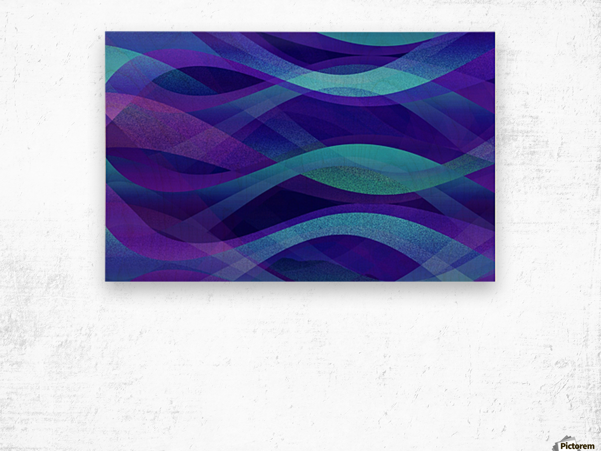 Abstract Background G143 Wood print