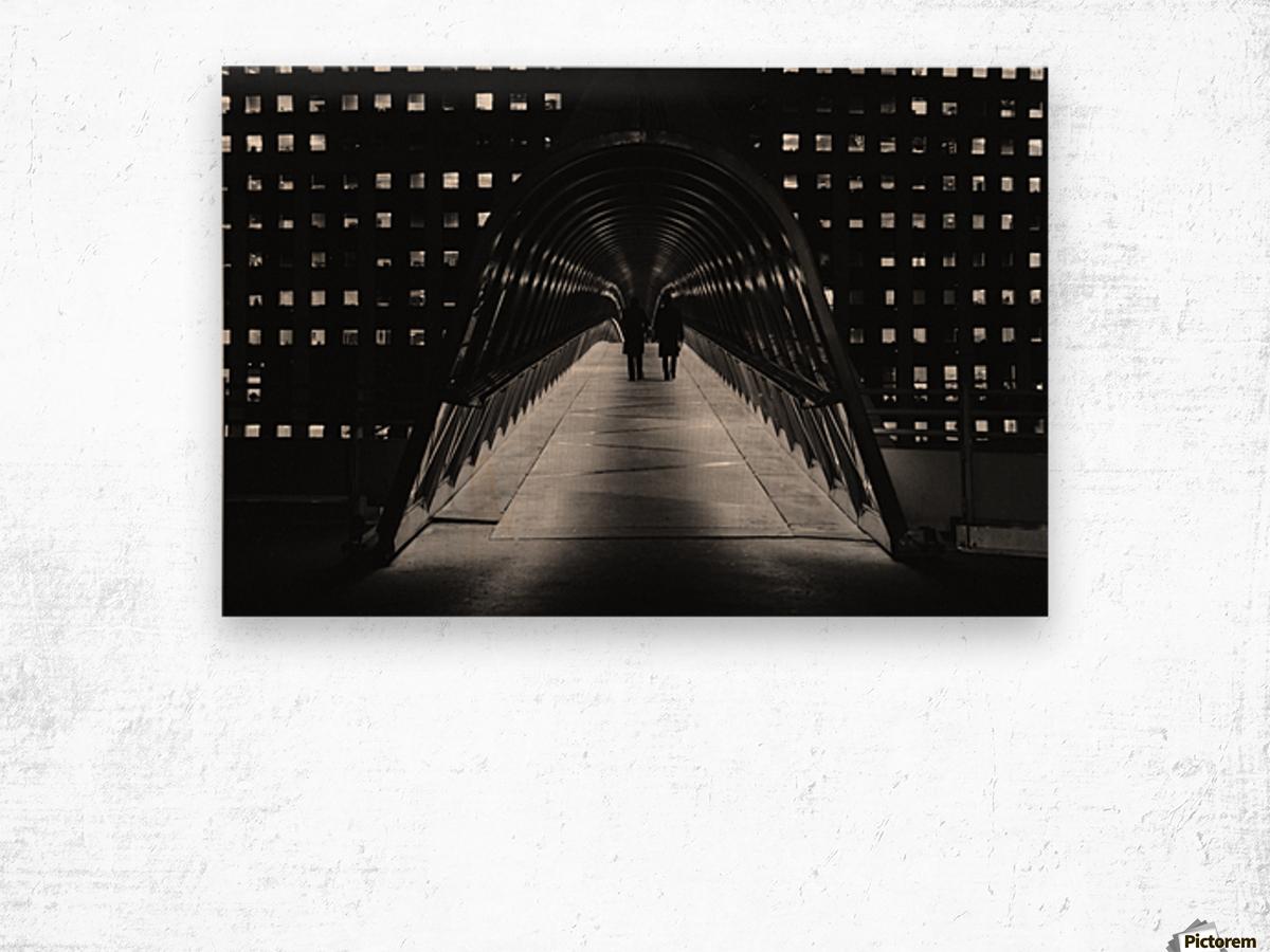 La Defense Paris Wood print