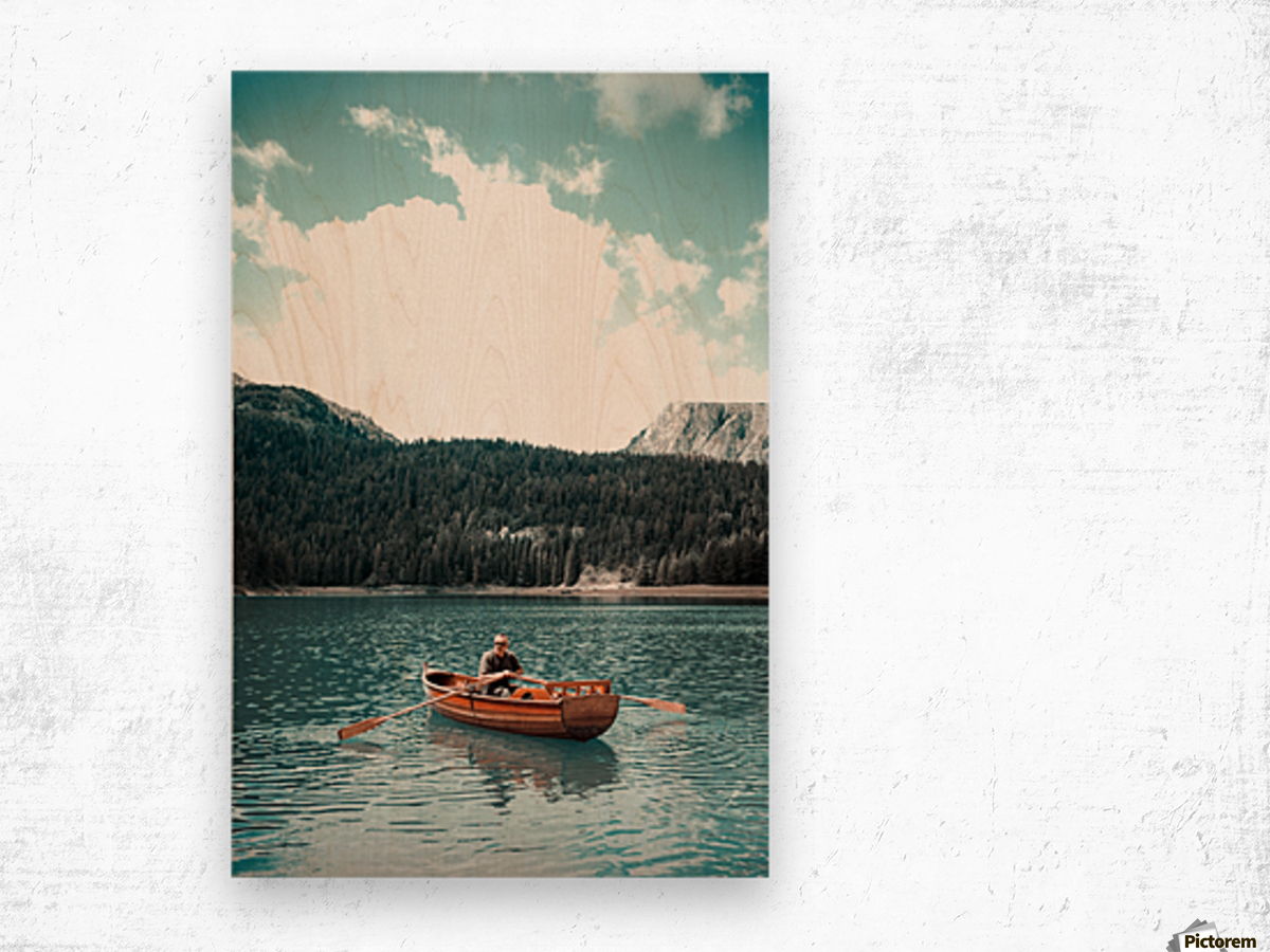 Lonely hour  Wood print