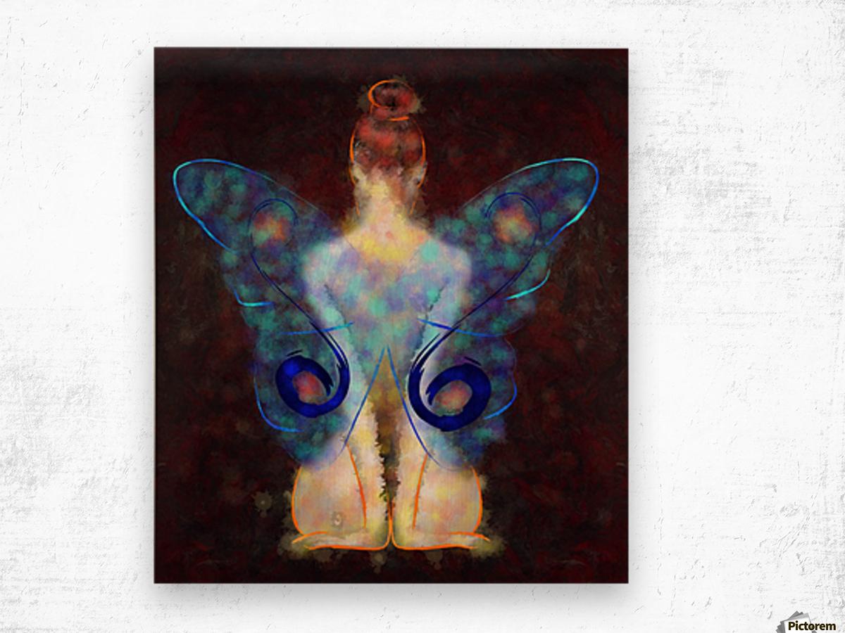 Elseminossa - butterfly beauty Wood print
