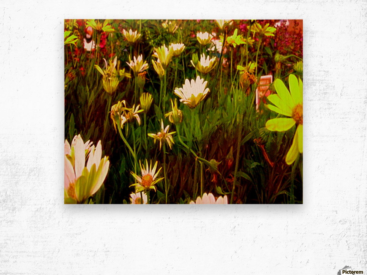 forest of flowers Wood print