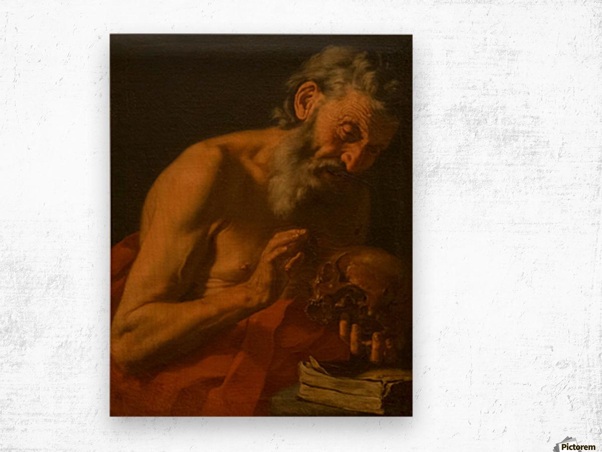 San Girolamo Impression sur bois